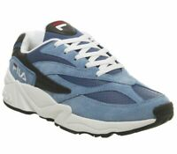 Fila Fila 94 Trainers Vista Blue Mazarine Black Trainers Shoes