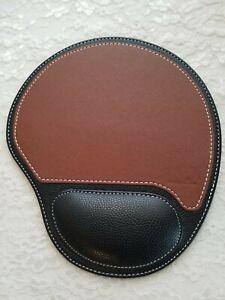 CLASSIC Mousepad LEATHER, Ergonomic Wrist Rest & Support, Non-Slip Mouse Pad