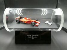 Very unusual display 1:43 Michael Schumacher Ferrari F2001 World Champion 2001