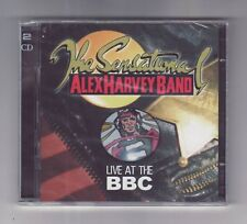 (CD) THE SENSATIONAL ALEX HARVEY BAND - Live At The BBC / 2 CD / Import / NEW