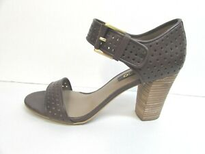 Ecco Size EUR 40 US 9 9.5  Brown Leather Sandals New Womens Shoes