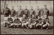 "1901 United States America SOCCER TEAM, antique sports, football, photo 20""x14"""