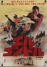 EL CONDOR Japanese B2 movie poster LEE VAN CLEEF JIM BROWN WESTERN 1970 NM