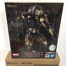 IN STOCK Bandai S.H.Figuarts Iron Man BLACK GOLD Mark 20 MK 7 XX Python USSELLER