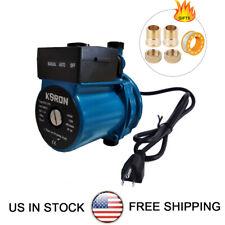 Npt 34 Automatic Booster Pump 110 120v Hot Water Recirculating Pump Blue 120w