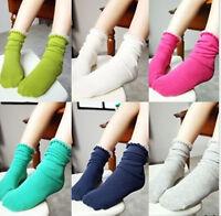 Girls School Ankle Fancy Retro Lace Ruffle frilly princess Short Socks 2-13years