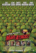 MARS ATTACKS! (1996) ORIGINAL MOVIE POSTER  -  ROLLED