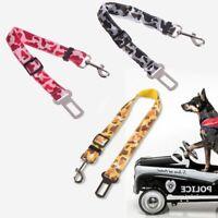Adjustable Pet Cat Dog Car Safety Seat Belt Harness Vehicle Seatbelt Lead Leash