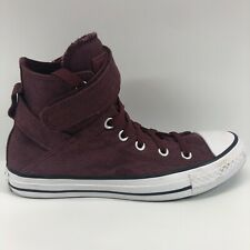 CONVERSE All Star Strap Hi Women's Shoes Size 8 549698C Maroon Burgundy