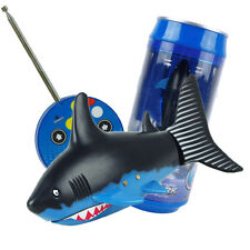 Coke Can Radio Remote Control RC Mini Shark Fish Kids Electric Water Game Toy
