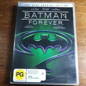 Batman Forever DVD R4 LIKE NEW FREE POST