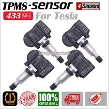 SET(4) Tire Pressure Sensor OEM TPMS 433MHz For Tesla Model S Model X Model 3
