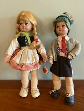 """Rare 1940's Vintage BAPS Dolls; Made in Germany- """"ALFI"""" #3 Stamped 0n Shoes; TAG"""