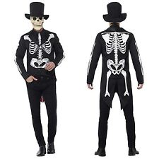 Smiffy's 44656L Men's Day of The Dead Senor Skeleton Costume Large