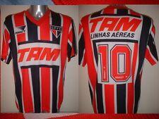 Sao Paulo pena 10 Adulto Xl Camiseta Fútbol Fútbol Vintage Brasil Top 1993