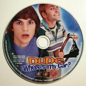 Dude, Where's My Car? | DVD | Jennifer Garner, Ashton Kutcher | *Unoriginal Case