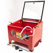 Cabine de sablage à manches, Microbilleuse Aerogommeuse 90 litres + accessoires