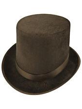 Fancy Dress Burlesque Dance Magician Stag Black Top Hat Topper Deluxe Wedding