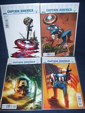 Ultimate Captain America #1 - #4 NM with Bag and Board Marvel 2011
