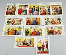 13 x BAMFORTH Comic Seaside Postcards with Brown Triangle (PC131)