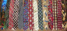 Pebble Beach, Lands' End etc. LOT 14 Men Golf Themed Neckties (LOT 2343)