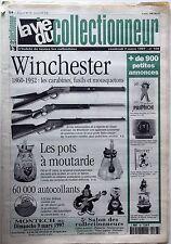 La Vie du Collectionneur n°168-  Winchester Pots à moutarde Les Autocollants