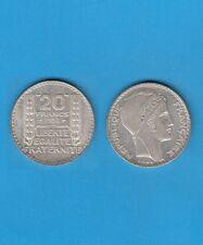 Troisième République 20 francs argent Turin 1934 Exemplaire N° 5 Superbe qualité