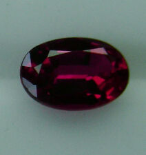 NATURAL RUBY 1.05ct!! EXPERTLY FACETED IN GERMANY +CERTIFICATE AVAILABLE