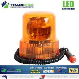 13 LED 12V Revolving Beacon Light Emergency Quality Warning Flashing Amber Lamp