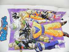 Poster Dragon Ball Il manga leggendario Hachette Goku Piccolo Vegeta Mr Bu Bulma