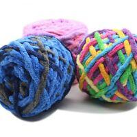 165g Skeins Yarn Chunky Crochet Chenille Milk  Soft Velvet Knitting Wool