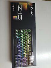 EVGA Z15 RGB Gaming Keyboard, RGB Backlit LED & X17 FPS Mouse