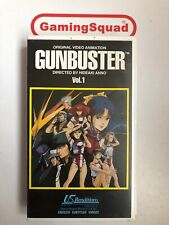 Gunbuster Vol 1 VHS Video Retro, Supplied by Gaming Squad