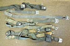 Used 1968 Ford Mustang Coupe Front & Rear Seat Belt Set