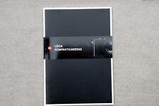 LEICA  Kompaktkameras - LEICA D-LUX - LEICA V-LUX - LEICA C -1 Broschüre