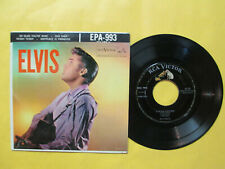 """ELVIS PRESLEY """"ELVIS VOLUME 2"""" RCA-993 EP WITH COVER NO SILVER LINES VG+/VG"""