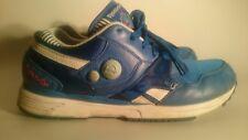 Reebok Classic la pompe Baskets Chaussures De Course uk10 eu44.5 us11 Bleu Blanc Rose