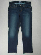 SF03436 2017 **LEVI'S** SIGNATURE MODERN STRAIGHT WOMENS JEANS sz16M DARK BLUE