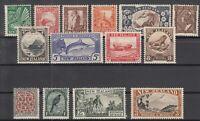 BJ6518/ NEW ZEALAND – SG # 577 / 590 COMPLETE MINT – CV 165 $