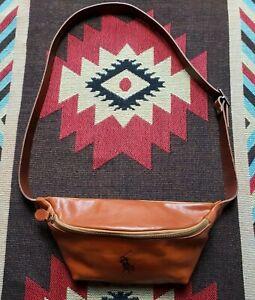 Polo Ralph Lauren PRL Leather Fanny Pack Waist Bag RRL