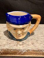 Vintage porcelain TOBY JUG MAN SAILOR,  made in occupied Japan