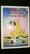 """""""THE DISNEY CLASSIC FAIRYTALES IN POSTAGE STAMPS""""   HARDCOVER"""
