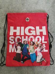 High School Musical Library Kids Swim Beach Draw String Bag Brand new Pack Of 2