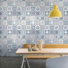 Grandeco Porto Floral Pattern Wallpaper Baroque Motif Kitchen Bathroom Textured