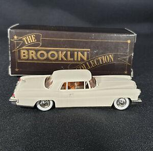 *Brooklin BRK 11a - 1957 Cream 1:43 Continental MK II Diecast Model Mint in Box*