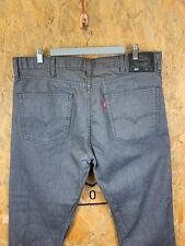LEVI'S, Mens W38 L30, 508 Tapered Fit, Grey Wash, Denim Jeans,*EX COND*