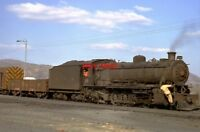 PHOTO  SOUTH AFRICAN RAILWAYS - CFM 2-10-2 LOCO NO 263 (4) AT SIDVOKODVO SHED IN