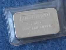 Engelhard 5 Troy Ounce .999+ fine Silver Ingot Struck Serial #C210541 B7209