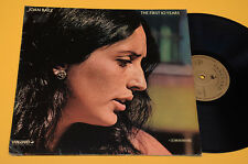 JOAN BAEZ 2LP FIRST 10 YEARS-1°ST ORIG GERMANY EX+ GOLD LABEL LAMINATED FOC COVE
