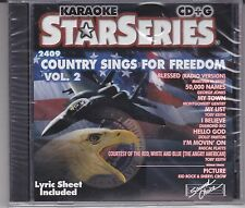 Hits of Country Sings for Freedom, Vol. 2 by Karaoke (CD, Mar-2003, Sound.choice
